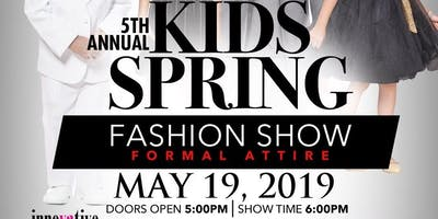 5th Annual Kids' Spring Fashion Show 2019 (VIP Seating)