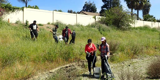 Creek Clean-up @ the Stanley Reach