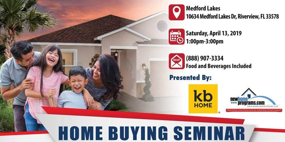 Tampa First Time Home Buying Seminar Tickets Sat Apr 13 2019 At 1