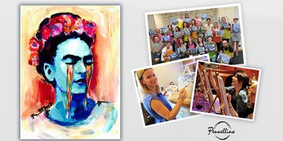 Paint & Fun Event: Frida Kahlo!  Dipingi, divertiti, socializza!