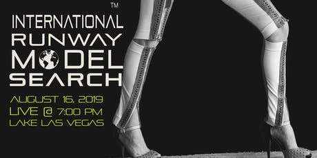 International Runway Model Search presented by Shimmer Magazine tickets