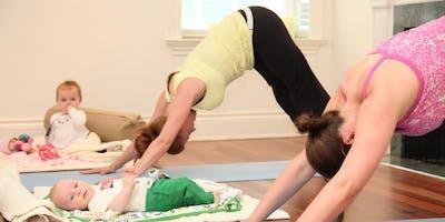 Mummy fit yoga