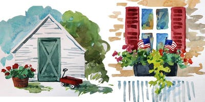 Watercolor Workshop: Garden, Home, and Country