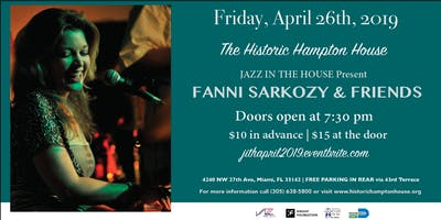 JAZZ IN THE HOUSE feat. FANNI SARKOZY & FRIENDS