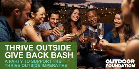 Thrive Outside Give Back Bash 2019 tickets