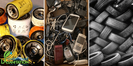 Jun. 22nd - Used Oil, Tires, and E-waste Mobile Collections at Locke High School tickets