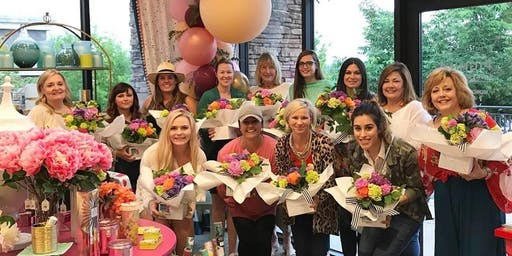 October 18th Floral Arranging Class