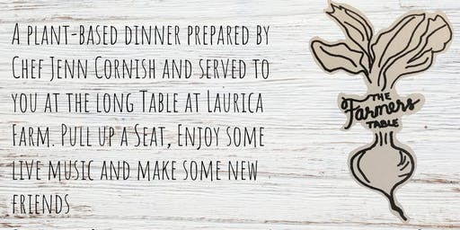 VEG OUT! A plant-based long table dinner in the orchards of Laurica Farm