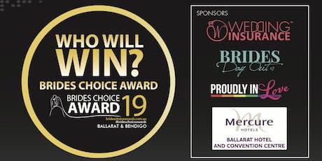 Ballarat & Bendigo Brides Choice Awards Gala Cocktail Party 2019 tickets