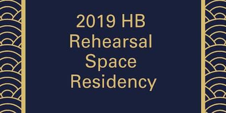 Rehearsal Space Residency - STARR STREET by Jesse Regis tickets