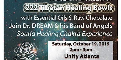 222 Tibetan Healing Bowls, Essential Oils & Chcolate Experience, Sound Healing, Atlanta