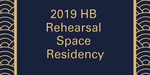 Rehearsal Space Residency - BLACK DOVES by Reynaldo Piniella