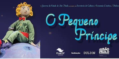 """50% de Desconto! Espetáculo """"O Pequeno Príncipe"""", no Teatro Folha ingressos"""