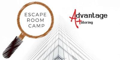 Advantage Tutoring Escape Room Camp