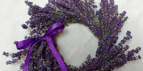 "8"" Lavender Grapevine Wreath Workshop at Wisteria Acres tickets"