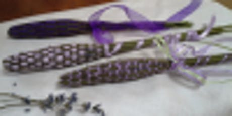 Make & Take Lavender Wand and Basket Sachet at Wisteria Acres! tickets