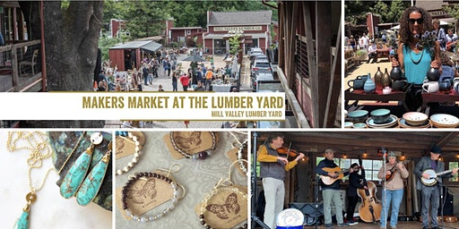 Makers Market at the Mill Valley Lumber Yard | A Monthly Craft Fair!