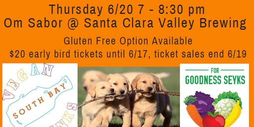 June Vegan Food, Friends, Beer & Adoptable Dogs