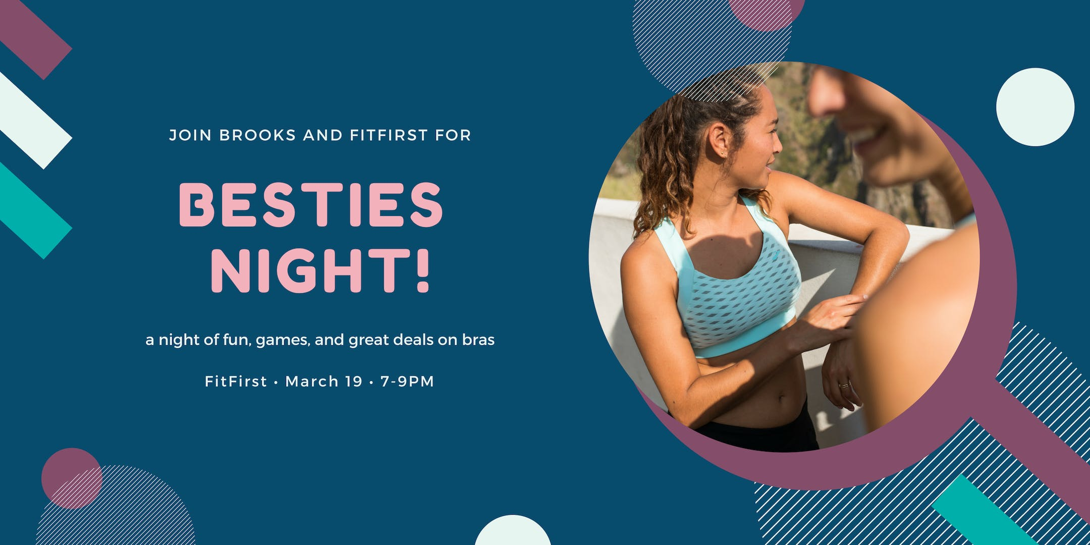 Brooks x FitFirst Footwear Besties Night!