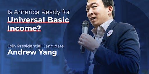 旧金山总统候选人Andrew Yang