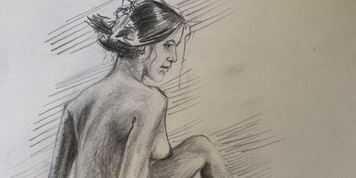 Open Model Life Drawing Session - Nude