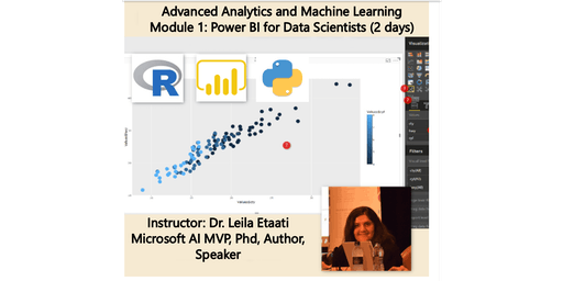 Data Science Training - Module 1: Power BI for Data Scientist – Auckland Time Zone 2 days course