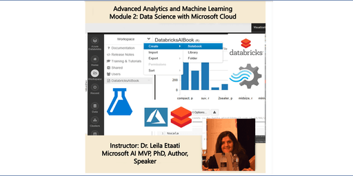 Data Science Training - Module 2: Data Science with Microsoft Cloud – Auckland Time Zone 2 days course
