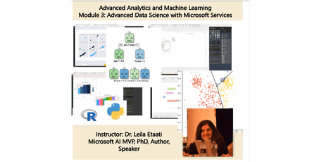 Data Science Training - Module 3: Advanced Data Science with Microsoft Services – Auckland Time Zone 2 days course tickets