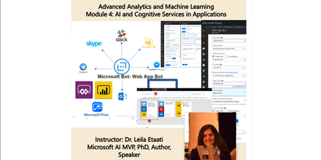 Data Science Training - Module 4: AI and Cognitive Services in Applications - Auckland Time Zone 1-day course tickets