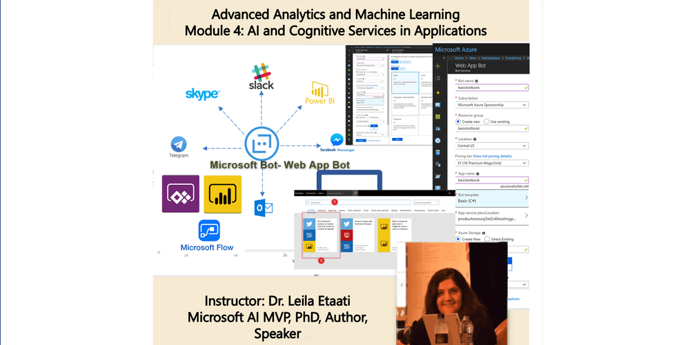Data Science Training - Module 4: AI and Cognitive Services in Applications  - Auckland Time Zone 1-day course
