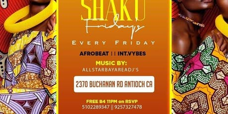Afrique Friday's tickets