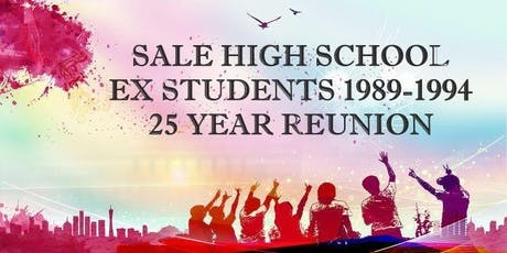 Sale High School  - Class of 94  - 25 Year Reunion tickets