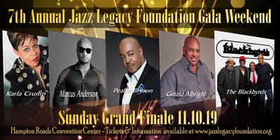 GERALD ALBRIGHT - PEABO BRYSON - MARCUS ANDERSON - THE BLACKBYRDS - KARLA CRUMP