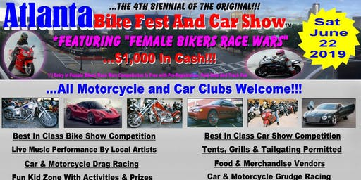 Atlanta Bike Fest And Car Show June 22, 2019