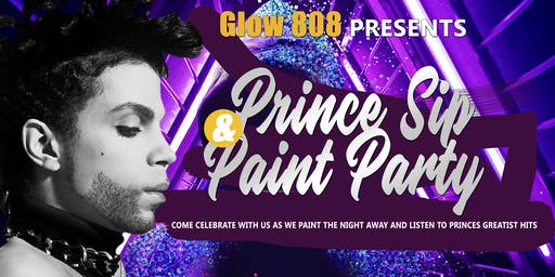 Prince Sip and Paint Party