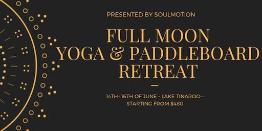 Full Moon Yoga and Paddle Board Retreat June 2019, Lake Tinaroo