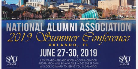 2019 National Alumni Association Summer Conference tickets