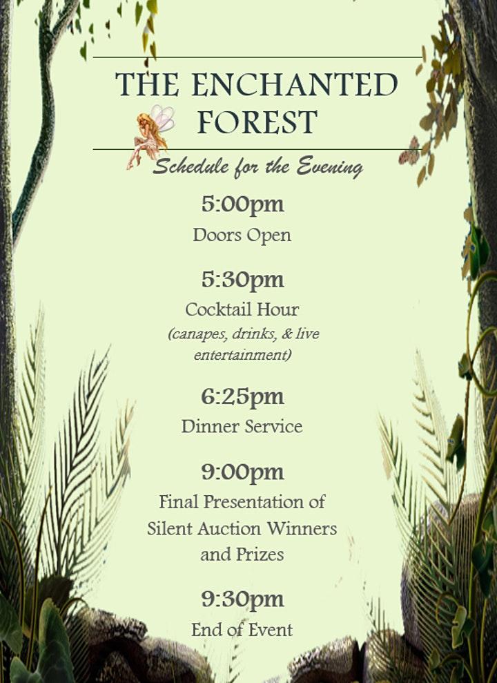 A Night in the Enchanted Forest Charity Event image