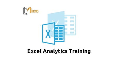 Excel Analytics Training in Waterloo on Apr 10th-12th 2019