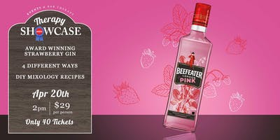 THERAPY SHOWCASE - BEEFEATER PINK GIN