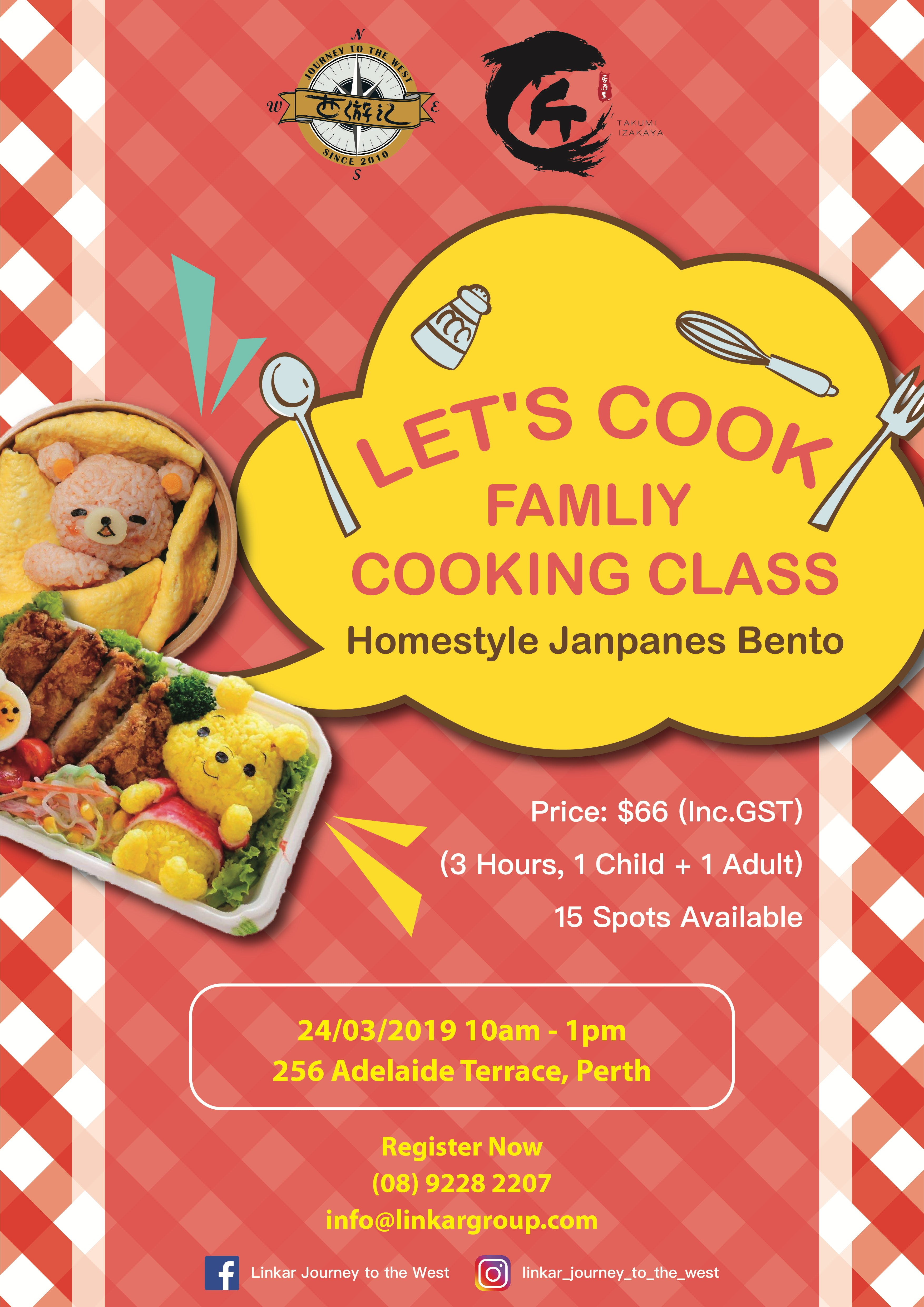 Let's Cook - Family Cooking Class