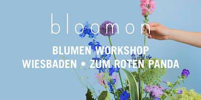 bloomon Workshop 23. März   Wiesbaden, Zum Roten Panda