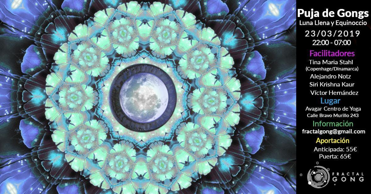 Puja de Gongs - Luna Llena y Equinoccio Prima