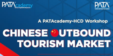 PATAcademy-HCD July - Chinese Outbound Tourism Market tickets