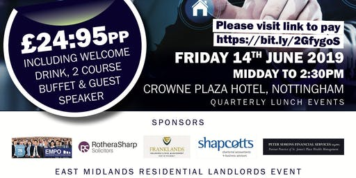 Residential Landlord Lunch