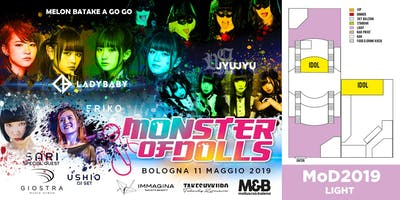 """Monster of Dolls 2019 MoD """"Light"""" ONLY PAYPAL"""