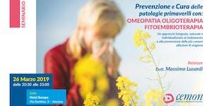 ANCONA - Prevenzione e cura delle patologie...