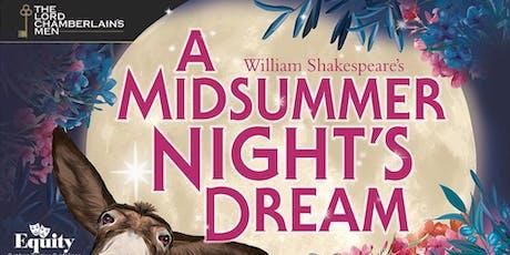 A Midsummer Night's Dream - Outdoor Theatre tickets