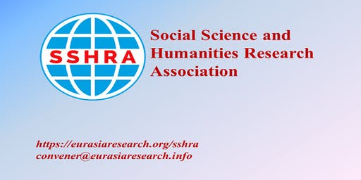 4th Dubai – International Conference on Social Science & Humanities (ICSSH), 07-08 October 2019