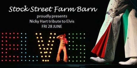 Nicky Hart tribute to ELVIS  tickets